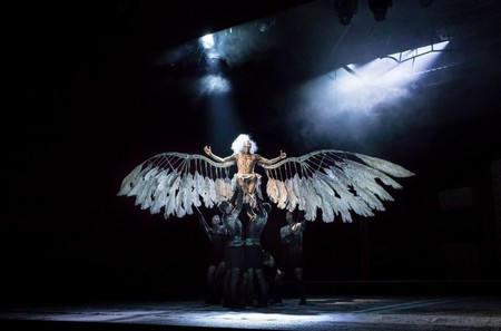 "Amanda Lawrence in ""Angels in America"""