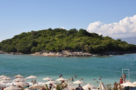 Ksamil is one of the most beautiful beaches of Albania