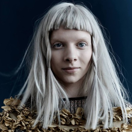 The artist Aurora is getting more and more attention internationally