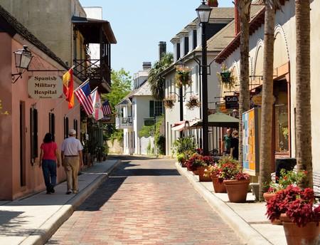 Aviles Street in St. Augustine, Florida