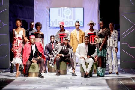 Telvin Nwafor (Nigeria) at Accra Fashion Week C/R18