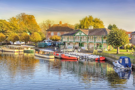 Canal boats, Stratford-upon-Avon