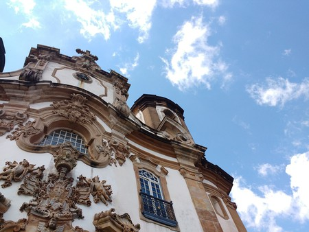 Intricate architecture is one of the main reasons Ouro Preto is a UNESCO World Heritage Site