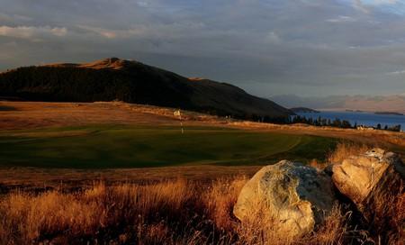 Views of the MacKenzie Basin as you play golf