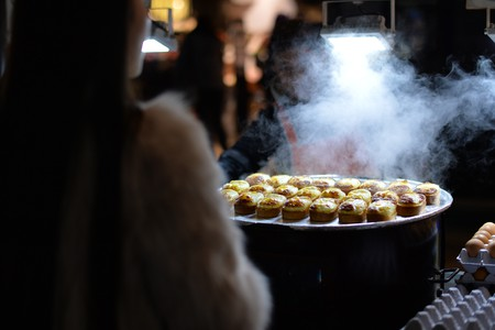 Egg Cakes, Myeong-dong Street Food in Seoul