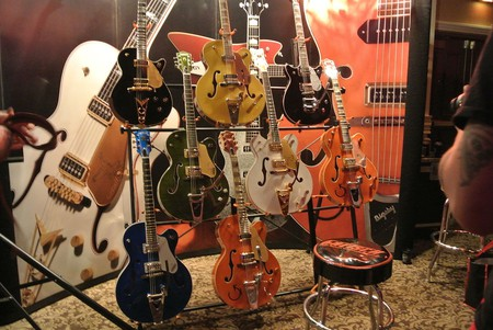 Gretsch guitars at the Viva Las Vegas Rockabilly Weekender, 2013