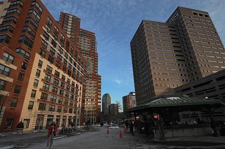 Grove Street Plaza in Jersey City, NJ