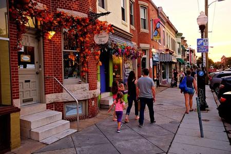 36th Street in Hampden, Baltimore.