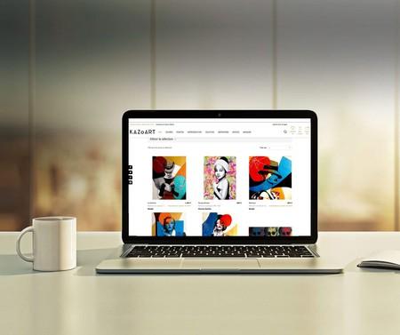 Kazoart, the online platform that gives everyone access to art