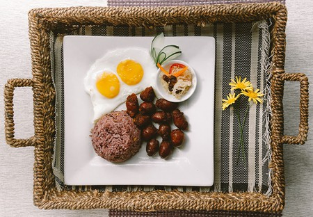 Traditional Filipino breakfast