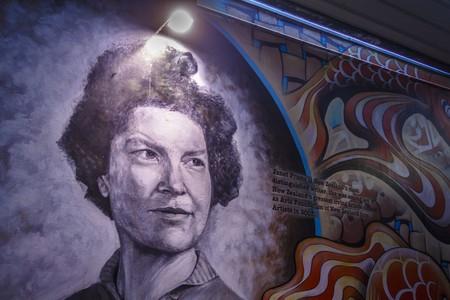 Janet Frame Mural