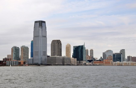 Exchange Place in Jersey City, NJ