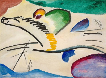 Wassily Kandinski, The Lyrical, 1911