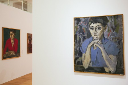Paintings by Romanian artist Ion Bitzan