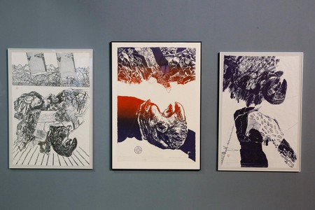 Exhibition of local artist Lavinia Pollak at the National Museum of Contemporary Art, Bucharest