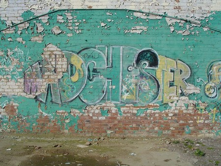 Madchester graffiti