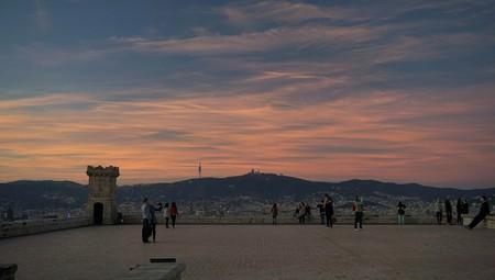 Montjuïc castle view