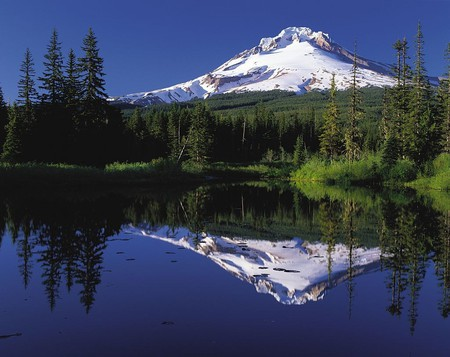 Mount Hood is the largest peak in all of Oregon