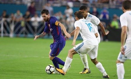 Barcelona vs. Real Madrid | © Marc Serota/AP Images for International Champions Cup