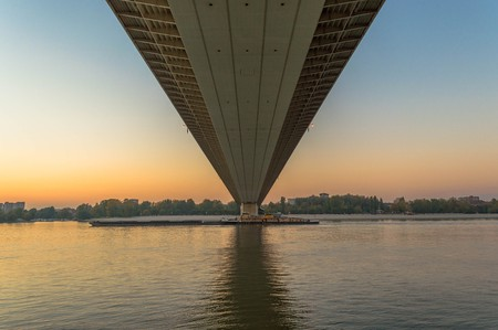 Liberty Bridge in Novi Sad