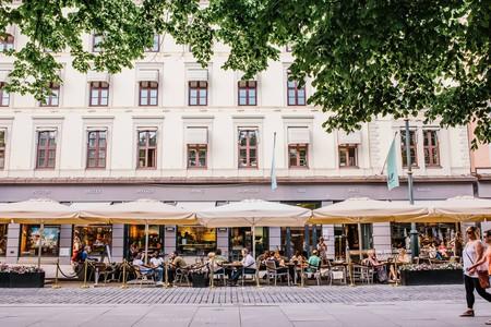 Paleet is a destination in Karl Johan