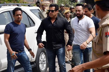 Bollywood actor Salman Khan receives five years for poaching, Jodhpur, India | ©SUNIL VERMA/EPA-EFE/REX/Shutterstock