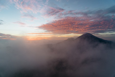 Mount Batur is increasing in popularity with hikers