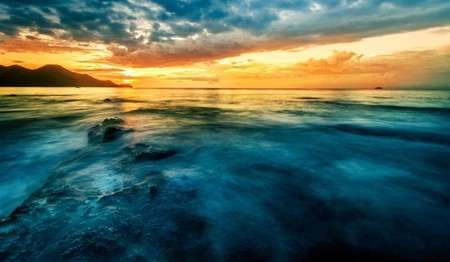 Magical sunset in Guanacaste