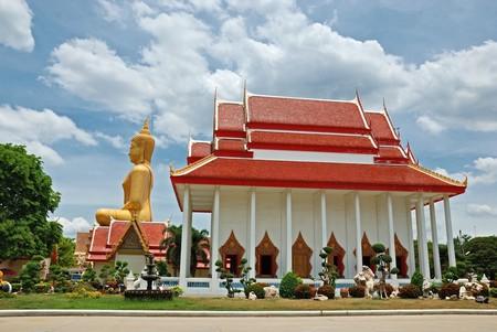 Buddha statue in Singburi, Thailand