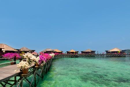 Gayana Eco Resort water bunglows