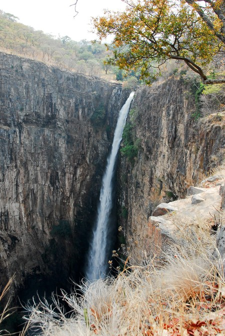 Hike up Kalambo Falls, the second highest falls in Africa