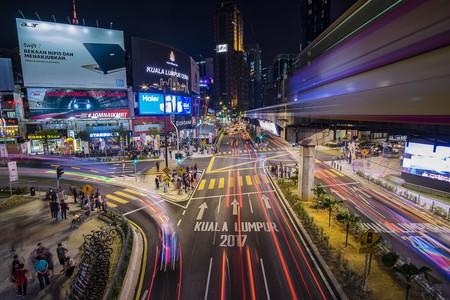 Night scene in Kuala Lumpur