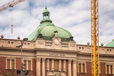 The National Museum in Belgrade, Serbia
