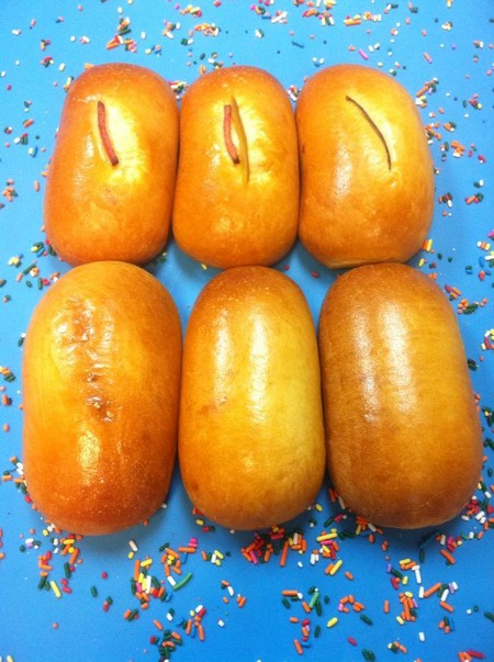 Donut Taco Palace is renowned for its sausage and cheese kolache