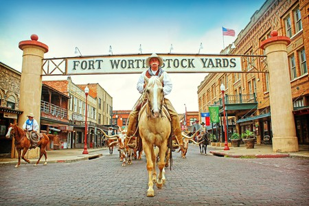 Cowboy culture is on display every day at the Fort Worth Stockyards