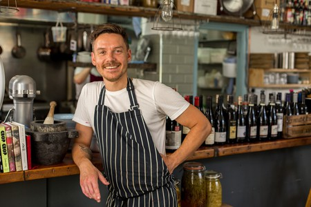 Nicholas Balfe, founder and head chef at Salon in Brixton