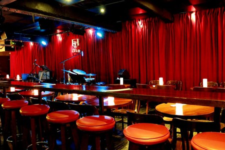 The stage is set for a night of jazz