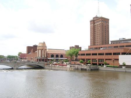 The Fox River and Aurora, Illinois