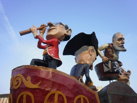 Gabrovo Carnival figures