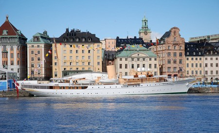The Danish Royal Yacht Dannebrog