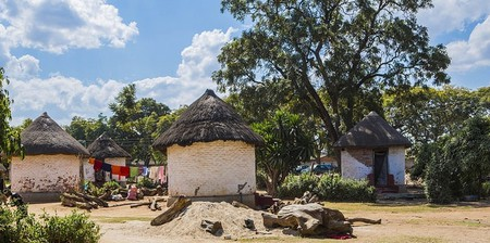 The Kabwata Cultural Village is an arts and crafts market where souvenirs can be purchased