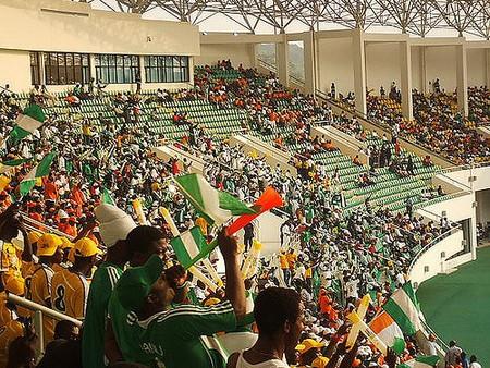 Nigerian football fans
