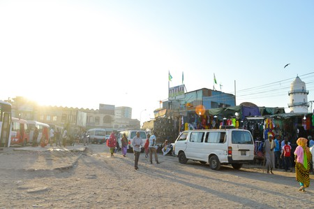 Djama, Downtown Djibouti
