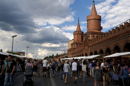 Berlin Open Air Art Gallery at Oberbaumbrücke | © ERAKU / Flickr