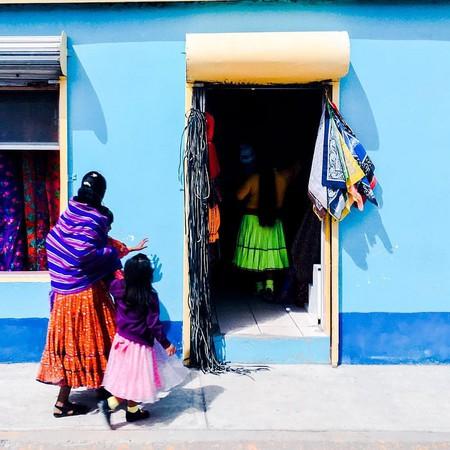 A folk art store in Creel, Chihuahua