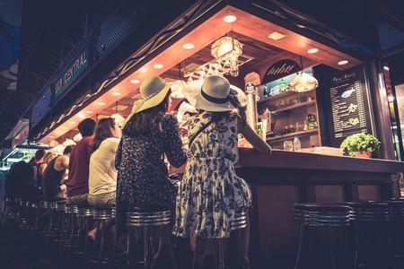 Bar Central in Barcelona's Boqueria market