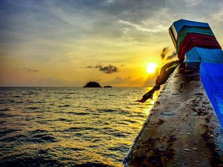Shark Island at sunrise