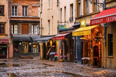 Bouchon restaurants in Vieux Lyon