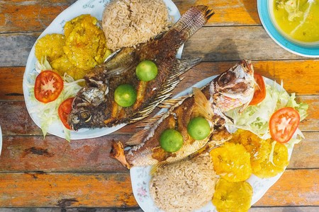 Colombian Caribbean food   © Eddy Milfort / Flickr