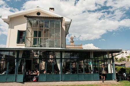 Cafe de la Gare in Antananarivo, Madagascar